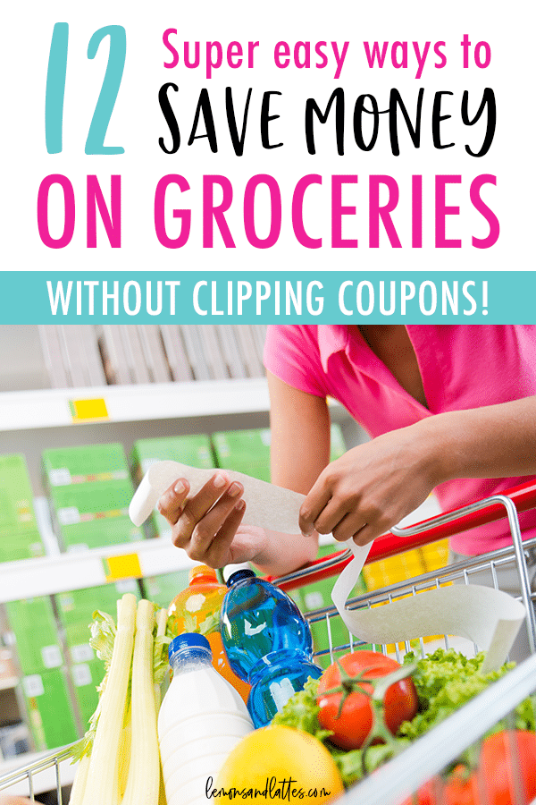 Grocery shopping on a budget? These 12 practical tips will help you save money on groceries!