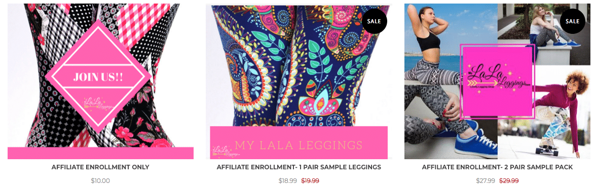 How to become a My LaLa Leggings affiliate/consultant