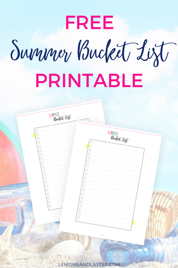 31 inexpensive summer bucket list ideas for kids  and a