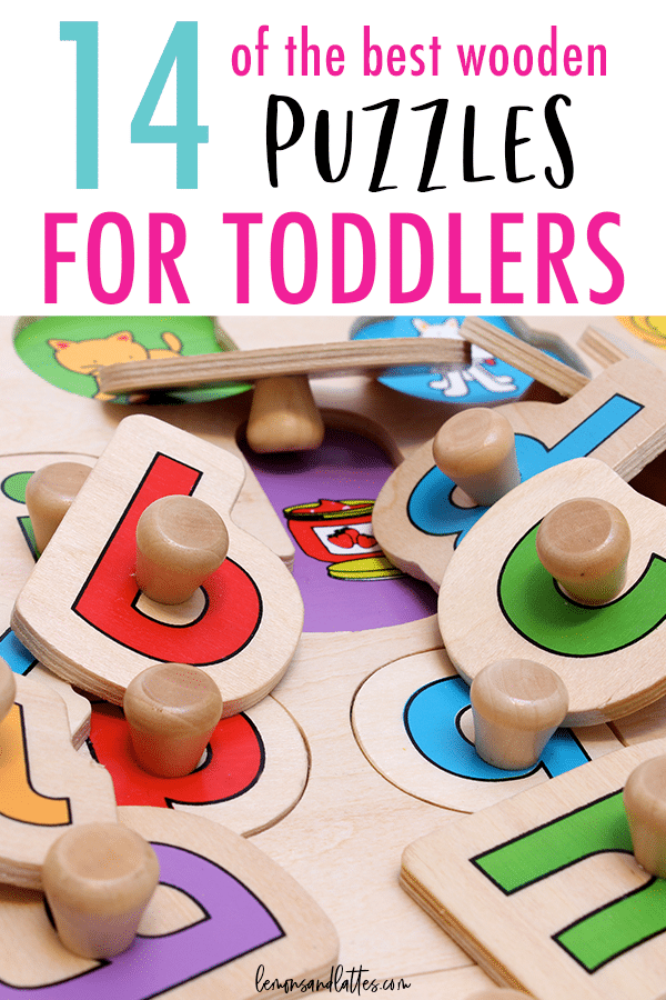 14+ of the best wooden puzzles for toddlers