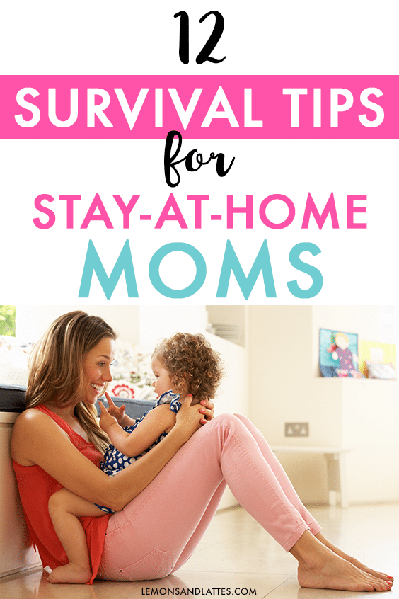 tips for stay-at-home moms