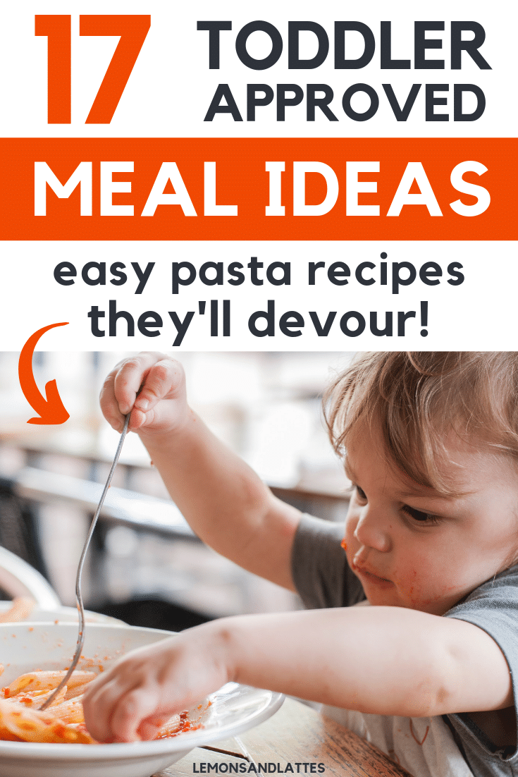 toddler pasta recipes