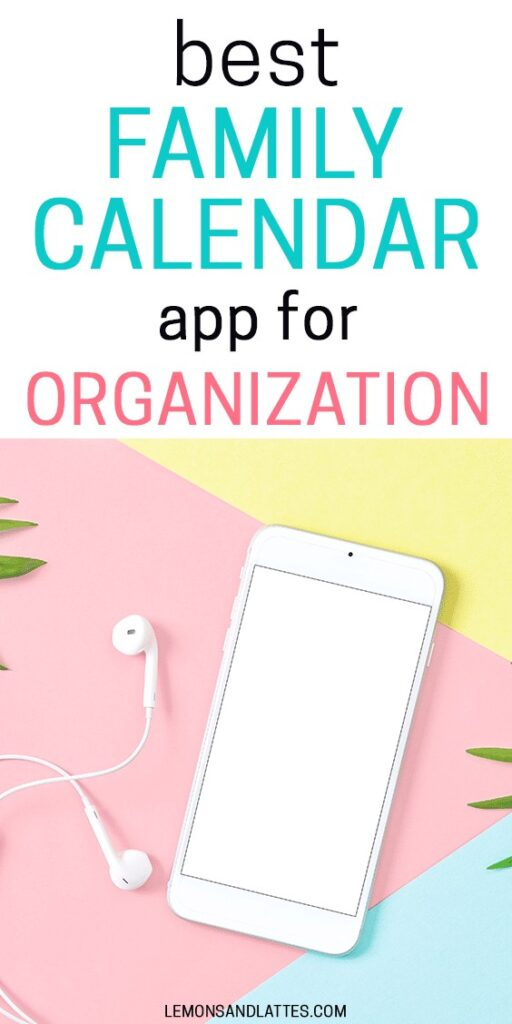 best family calendar app for organization