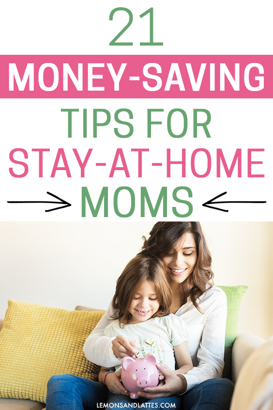 Money-saving tips for stay-at-home moms on one income