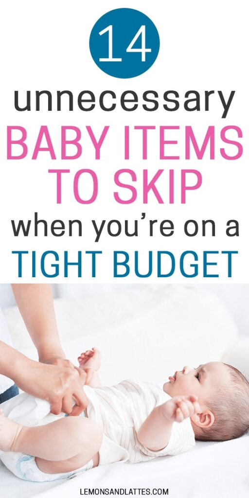 Unnecessary baby items