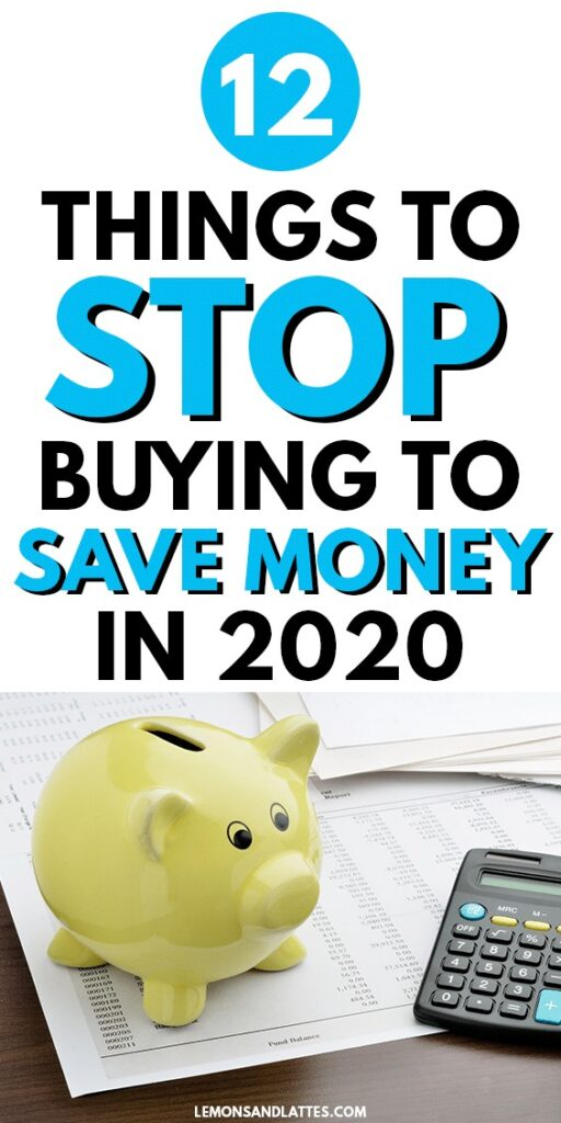 Small ways to save money: 12 things to stop buying