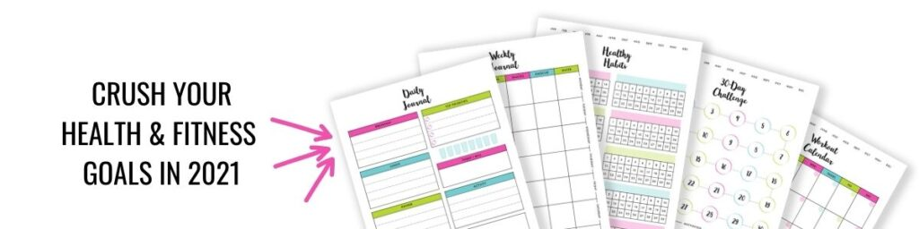 2021 health and fitness printables