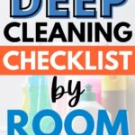deep cleaning home checklist